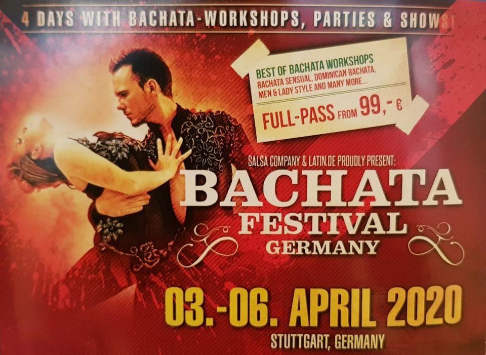 La Bachata Festival 2020 Bachata Festival Germany / Stuttgart – Salsita.eu